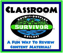 survivor template powerpoint classroom survivor a fun and creative