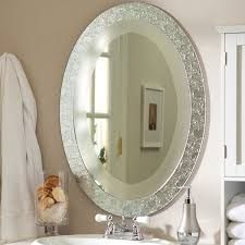 Glass Mirrors For Bathrooms Frameless Bathroom Mirror Large Frameless Mirror Large Frameless