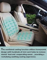 viotek tru comfort climate controlled auto seat cushion with