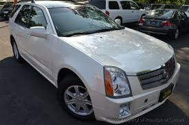 2005 used cadillac srx pearl white panorama roof bose xenon