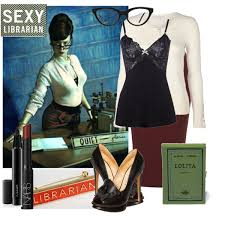 diy halloween costume librarian polyvore