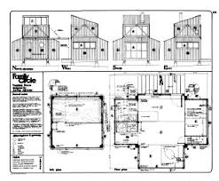 large cabin plans jeff milstein s 1972 preassembled cabin plans this is a large zip