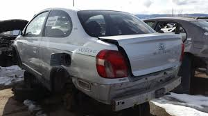toyota car yard junkyard find 2000 toyota echo the truth about cars