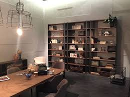 Open Home Office Trendy Panache Smart Ways To Decorate With Bookshelves
