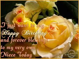 happy birthday niece u0027s greetings birthday wishes for niece