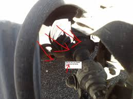 nissan maxima axle seal leak hit a curb hard front left what do i need to fix cost est and