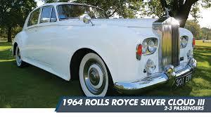 wedding rolls royce 1964 rolls royce silver cloud 3 santos vip limousine