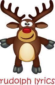 rudolph red nosed reindeer lyrics u0026 chords ukulele 4 kids