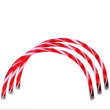 Outdoor Candy Cane Lights by The Illuminated Candy Cane Archway Prelit Outdoor Christmas