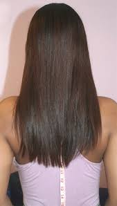 how to cut hair straight across in back straight hemline with some layers long hair pinterest