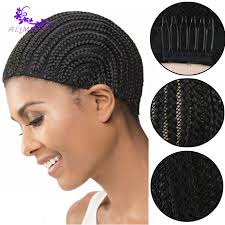 crochet hair wigs for sale top sale cornrow wig cap for crochet braided weaving cap 1 20 pcs