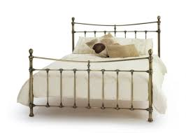 serene olivia metal bed frame king size beds bed sizes