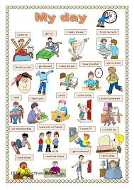 my day worksheet free esl printable worksheets made by teachers