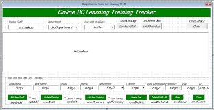 Excel Membership Database Template Staff Manager Database Excel Userform Pc Learning