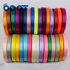 silk satin ribbon a 166910 10mm 31 color choose 25 yards silk satin ribbon wedding