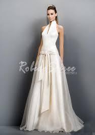 robe de mari e satin bretelles organza robe de mariée en satin de fuite dress06090042