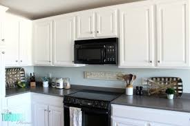 sherwin williams paint with oak cabinets sea salt kitchen the turquoise home