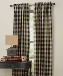 Curtains St Louis Wicklow Lined Panels Black Country Farmhouse Curtains St