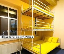 3 Person Bunk Bed 4 Person Bunk Bed Three Level Bunk Bed At 3 Bros Hostel 4 Person