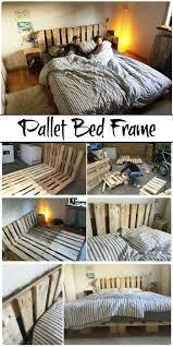 Pallet Bed Frame Plans 11 Pallet Bed Ideas Step By Step Pallet Bed Frame Tutorials