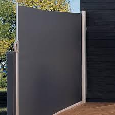 seitenmarkise balkon sunfun mobile seitenmarkise anthrazit 3 x 1 6 m sicht schutz