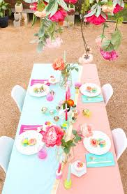 Pink And Gold Table Setting by A Kailo Chic Life Style It A Spring Table Setting