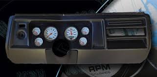 chevelle 1969 fast lane west dash panels gauge wiring harness