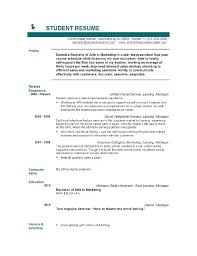 college graduates resume sles resume template for recent college graduate college student and