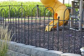 fresh simple decorative fence ideas garden 6295