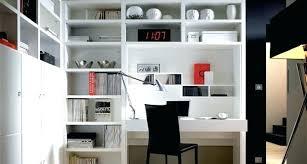 bibliothèque avec bureau intégré bibliotheque de bureau bureau design bibliotheque design architecte