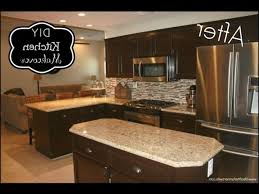 staining kitchen cabinets darker pictures of a yellow kitchen with oak cabinets charming home design