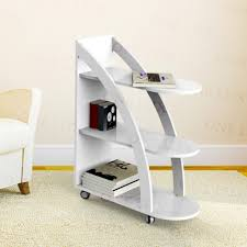 Rolling Bookcases Furniture Home Rolling Bookcases Large Bookcase With Ladder