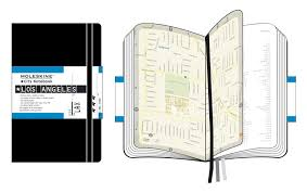 Los Angeles Street Cleaning Map by Moleskine City Notebook Los Angeles Moleskine 9788883708435