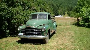 Old Ford Truck Graveyard - old farm truck teal turquoise chevy by cheyannesexton old