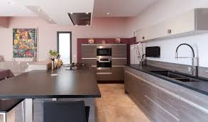 cuisine taupe et bois cuisine taupe et bois stunning with cuisine taupe et bois