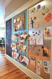 Family Command Center Ideas That Will Help You Organize Your Life - Magnetic board for kids room