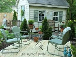 Patio Furniture Metal The 25 Best Old Metal Chairs Ideas On Pinterest Metal Folding
