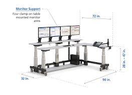 2 level computer desk two level l shaped corner computer standing desk afcindustries com