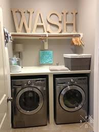 Diy Laundry Room Decor 39 Clever Laundry Room Ideas That Are Practical And Space Efficient