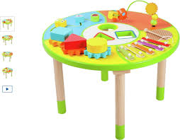 infant activity table toy chad valley wooden activity table pre infant pre