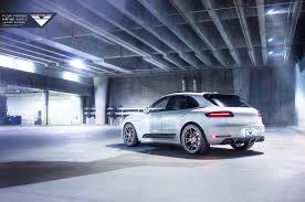 Porsche Macan White - white porsche macan with vorsteiner v ff 103 flow forged wheels