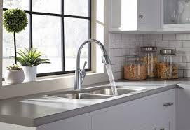 delta allora single handle pull down kitchen faucet u0026 reviews
