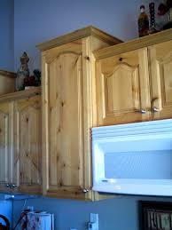 Refinishing Wood Cabinets Kitchen Refinished Knotty Alderwood Cabinets