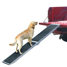 folding aluminum dog ramp for trucks and suvs discount ramps
