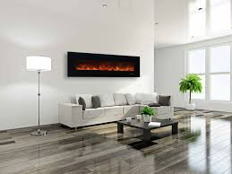 Wall Mounted Electric Fireplace Heater Akdy 36 In Wall Mount Electric Fireplace Heater In Black With And