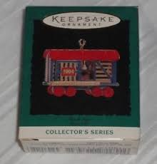 hallmark keepsake ornament miniature stock car 6th in noel rr