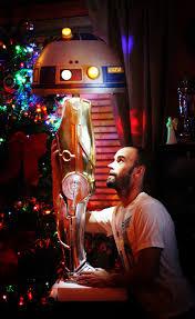 wedding gift idea star wars droid leg lamp features r2 d2 shade