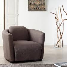 fauteuil club couleur fauteuil club en tissu couleur marron 85x85xh69 cm