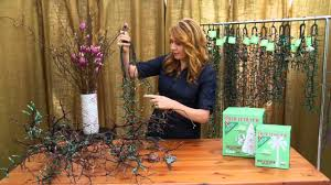 How To String Lights On Outdoor Tree Branches by Tree Branch By Nadia Geller Trim It Quick Lighting Youtube