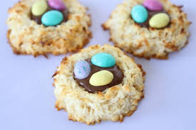 coconut easter eggs coconut macaroon nutella nests two peas their pod